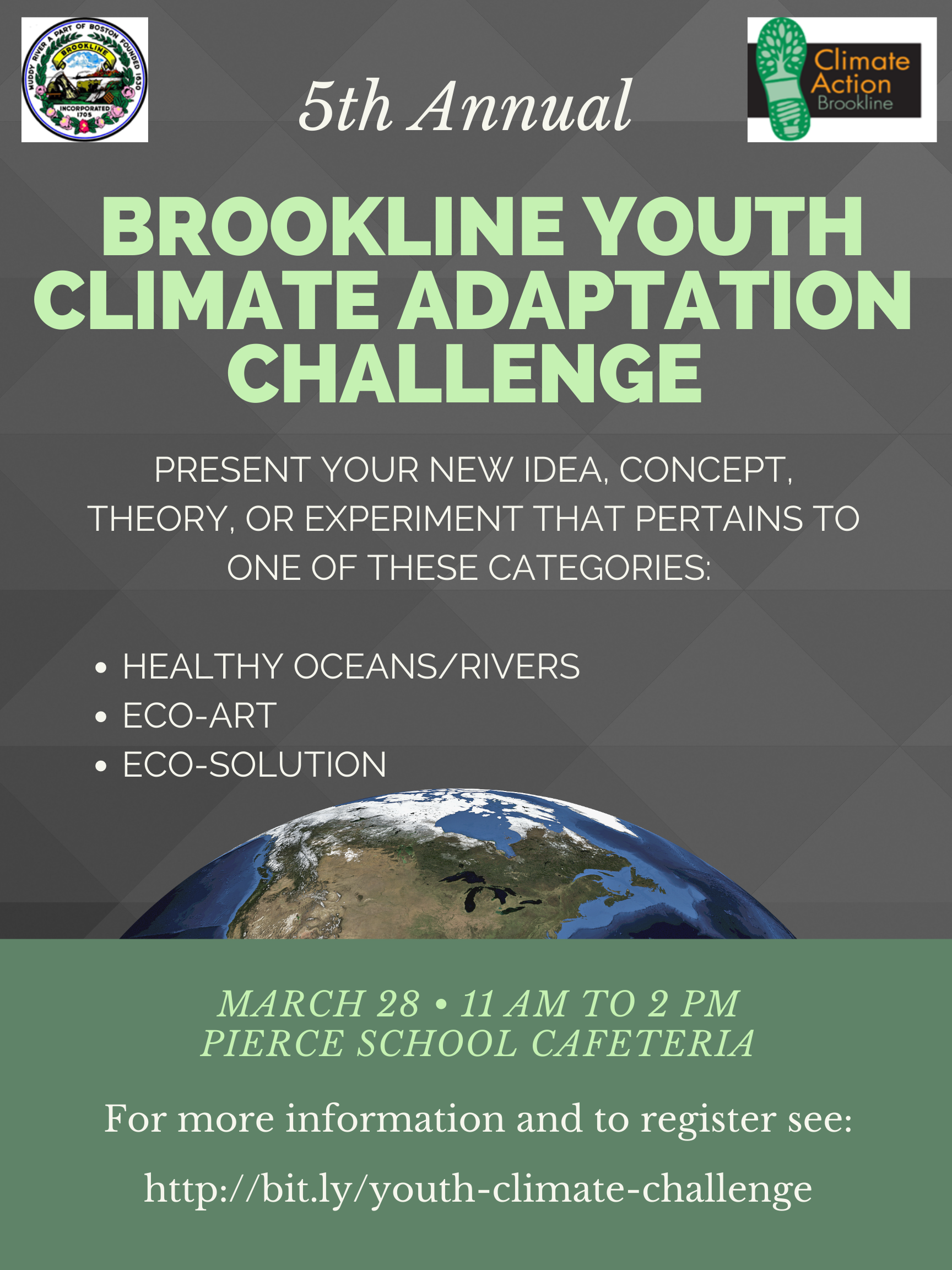 5th Annual Brookline Youth Climate Adaptation Challenge
